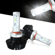 HB2 H4 High/Low Beam Car LED Headlight Bulbs Conversion Kit -160W 16000Lm 6500K White Brightest Philips Chip Replace HID&Halogen