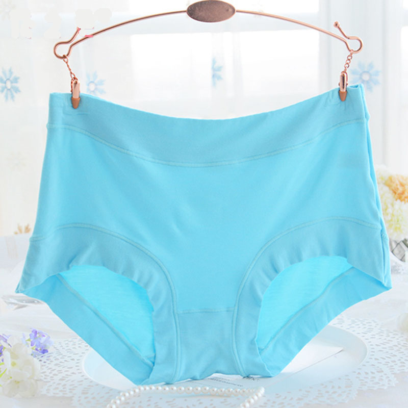 2018 New Women Underwear Big Size Large Women Pants Sexy Lingerie High Waist Panties Sexy Briefs Modal Comfortable Underwear