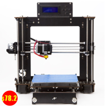 цена на 3D Printer Upgraded Full Quality High Precision Reprap Prusa i3 DIY LCD Controll UK USA Stock