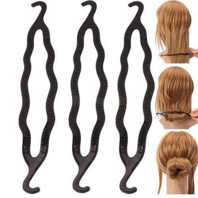 1pcs Magic Braider Hair Twist Styling Tools Clip Stick Donut Hair