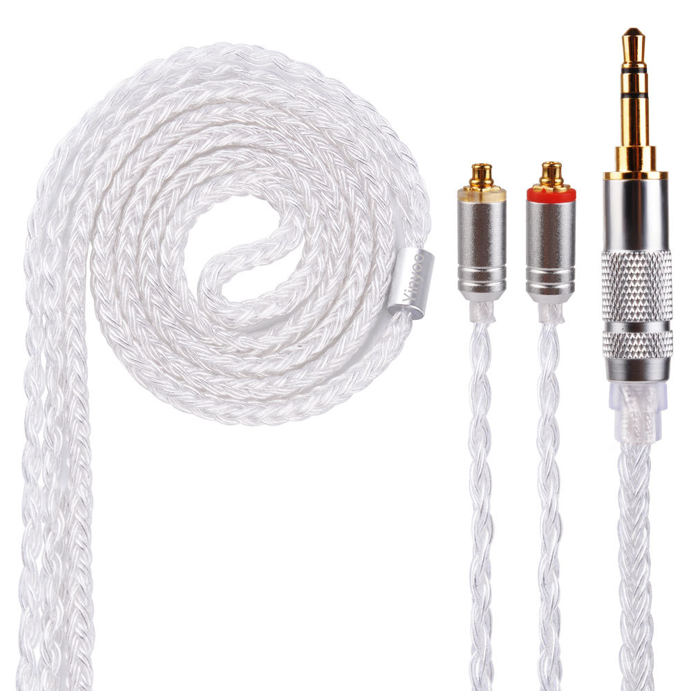 16 Shares MMCX Cable for Shure SE215 SE535 SE846 2 pin for ZS10 ZST ZAR ES4 ZS6 Earphone 3.5mm 2.5mm 4.4mm Balance Cable