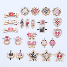 Exquisite Rhinestone Trinkets Geometric Decoration Suitable for Shoes and Bags Womens Luxury Gifts