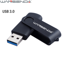 High Speed USB 3.0 Swivel USB Flash Drive Metal Pen Drive 4gb 8gb 16gb 32gb 64gb 128gb Pendrive USB Stick Logo Customize