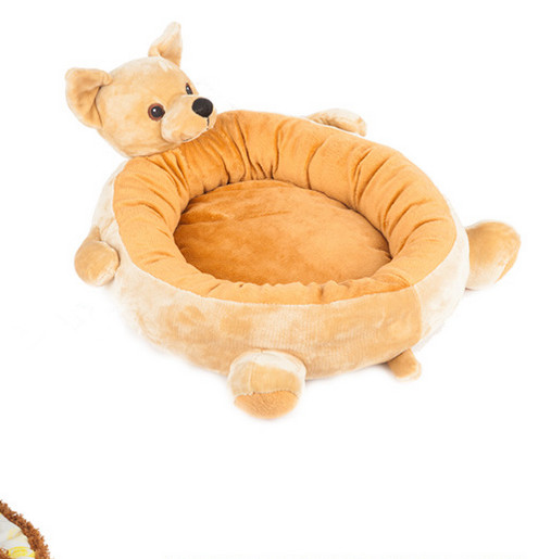 Free shipping new style pet dog puppy cat bed mat kennel house  cute dog shapeFree shipping new style pet dog puppy cat bed mat kennel house  cute dog shape