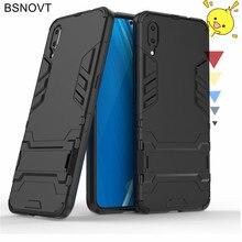For Vivo X23 Case Hard PC Armor Phone Holder Shockproof Anti-knock Cover Funda 6.41BSNOVT