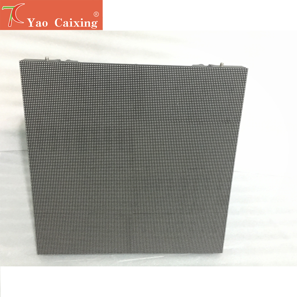 Yao Caixing P5 RGB Outdoor Pixel Panel Die-casting Aluminum Cabinet HD Display 64x32 Dot Matrix P5 Smd Rgb Led Hire Display