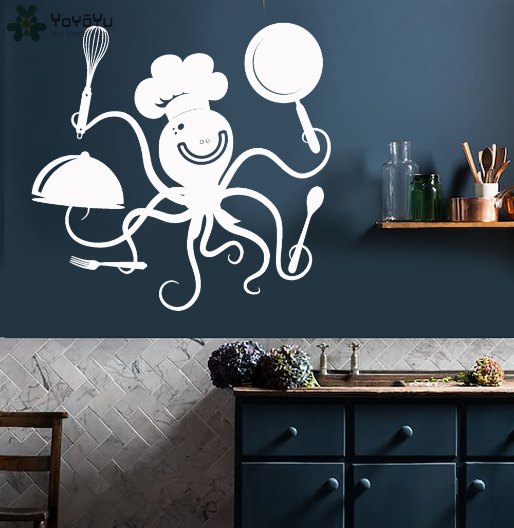 'Today's Menu' Kitchen Vinyl Wall Art Decal - Free ...