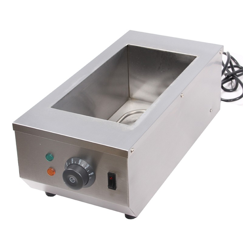 2-Trays-stainless-steel-melting-furnace-hot-chocolate-machine-chocolate-melting-maker