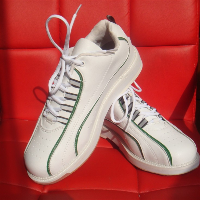 Professional Bowling Shoes Men Skidproof Breathable Sneakers Light Male Comfortable Training Bowling Shoe Size Eu 38 46 D0583