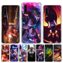 League of Legends KDA Phone Case for Huawei P30 P20 Mate 20 10 Pro P10 Lite P Smart + Plus 2019 Cover Shell Capa Coque