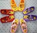 2016 Girls Sandals Children Shoes Cute Girls Sandals Princess Shoes Pikachu Sandals H0082