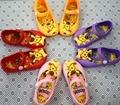 2016 Sandálias Meninas Crianças Sapatos Bonitos Sandálias Meninas Sandálias Princesa Sapatos Pikachu H0082
