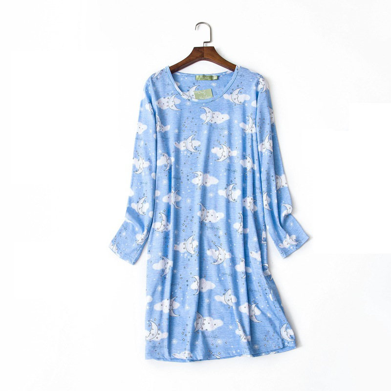 NEW Ladies 100/% Cotton /'Check/'  Nightshirt Nightwear//Loungewear