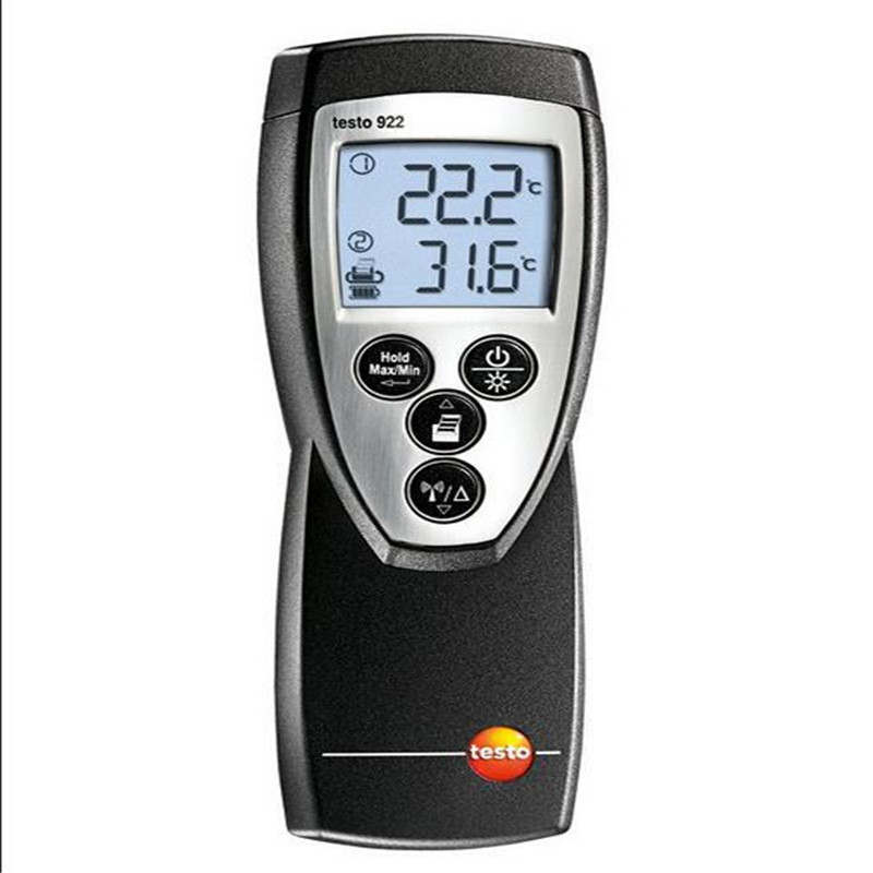testo 922 2 channel temperature measuring instrument with large measuring range!!Free shipping!!