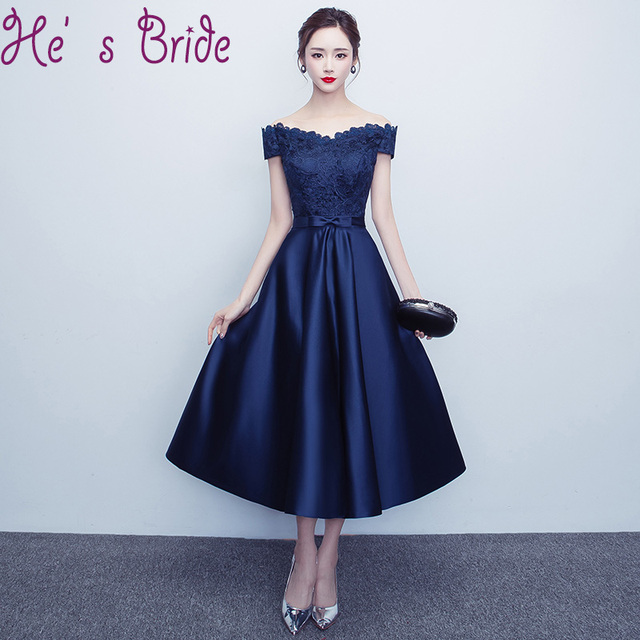 T Length Prom Dresses