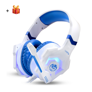 Pro USB 3.5mm Gaming Headset Luminous Headphone Gamer Headset With Microphone Wired Glowing LED Headphone For Computer Laptop PC