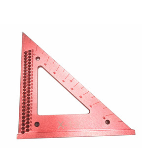 Image 2 - Woodworking line ruler Hole Scribing Gauge Precision Squares Triangle ruler woodworking crossed out Measuring Tool