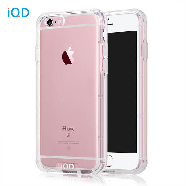 Iqd For Iphone 6s Case Shockproof Tpu Per Anti Scratch Rigid Slim Protective Clear Back