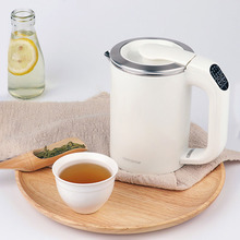 220V Multi-function Portable Mini Electric Kettle Travel Stainless Steel Teapot Auto Power-off Instant Heating Water Boiler 0.5L