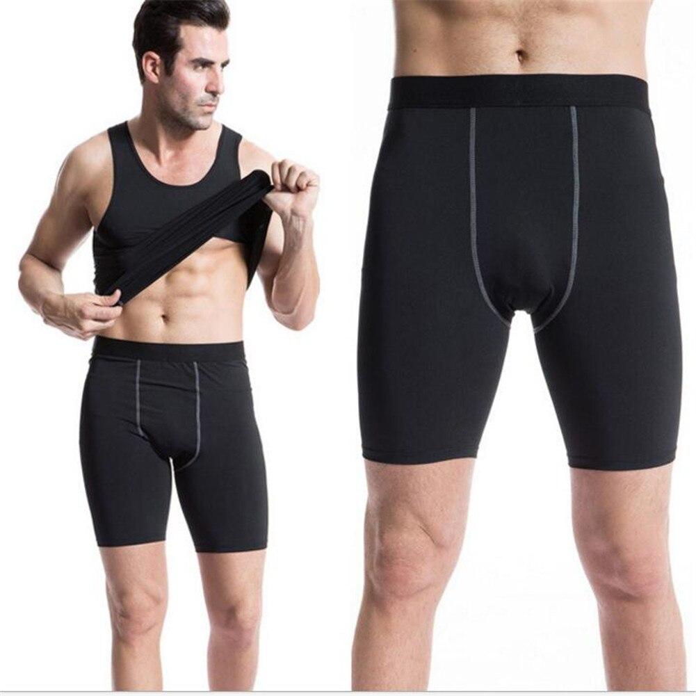 1004 Men Boys High Elasticity Joggers Bodybuilding font b Fitness b font Compression Skins Tights