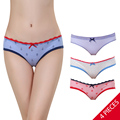 Sexy Women Female Briefs Panties Brand Lace Underwear Womens cotton Underware For Lady lingerie Intimates 2016 Free shipping