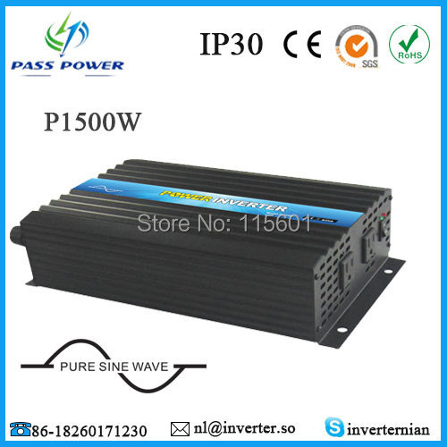 CE,ROHS,GMC Approved, off grid  pure sine wave dc to ac 1500w home inverter 24v to 120vCE,ROHS,GMC Approved, off grid  pure sine wave dc to ac 1500w home inverter 24v to 120v