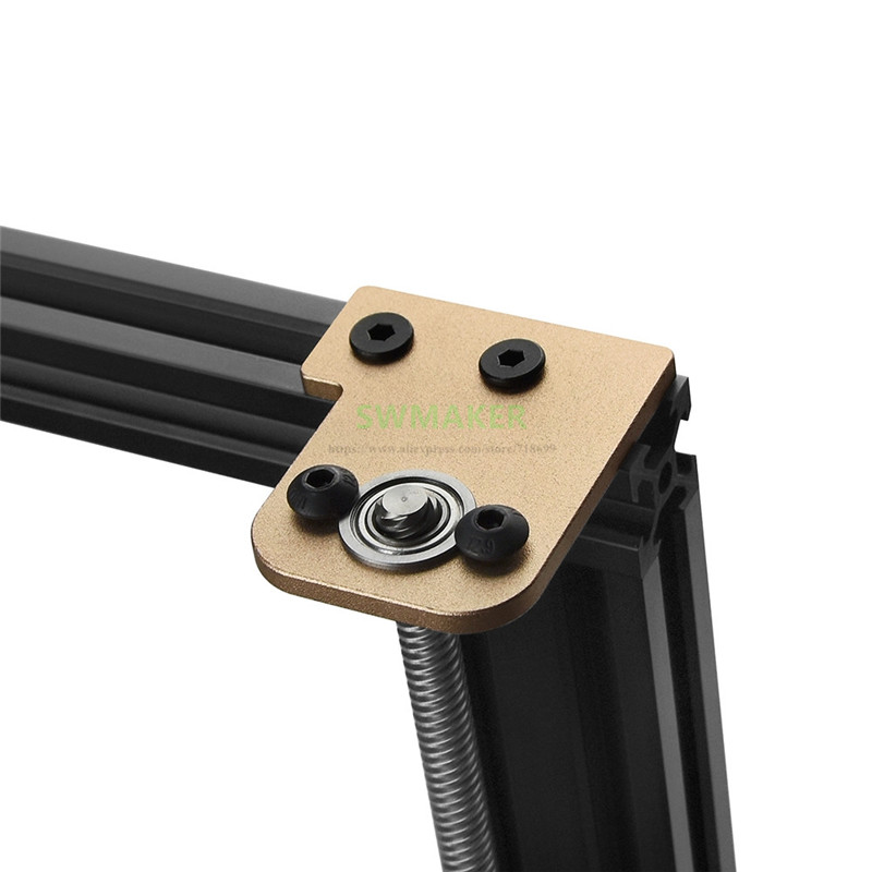 Glod <font><b>TEVO</b></font> <font><b>Tornado</b></font> Tarantula Pro Dual Z Axis Upgrade Z-Axis stabilizer for Creality Ender 3 <font><b>3D</b></font> printer <font><b>parts</b></font> image