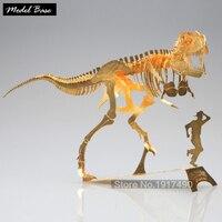3d Puzzles Metal Jigsaw DIY Educational Toy Tyrannosaurus Rex Dinosaur Skeleton Educational Games For Children