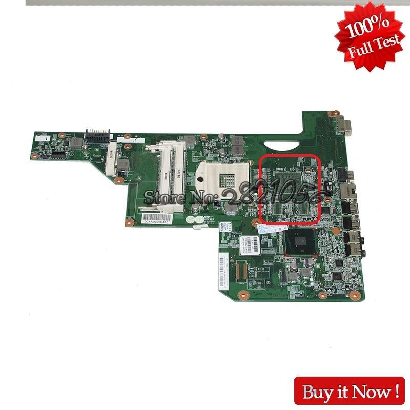 Nokotion Mainboard 615849-001 For HP G72 Laptop motherboard HM55 HD GMA DDR3 Fully Tested nokotion v000225000 motherboard for toshiba satellite c655 laptop mainboard 6050a2355202 hm55 pga989 ddr3 fully tested