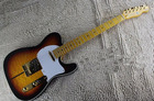Free Shipping New Sunburst Custom Shop TUFF DOG Signature telecaster Electric Guitar Quintana Tiger maple Golden Hardware