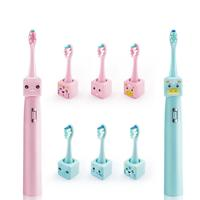 Baby Kids Teether Training Toothbrushes Cute Cartoon UElectric Toothbrush For Children Gum Massage Brush Oral Care