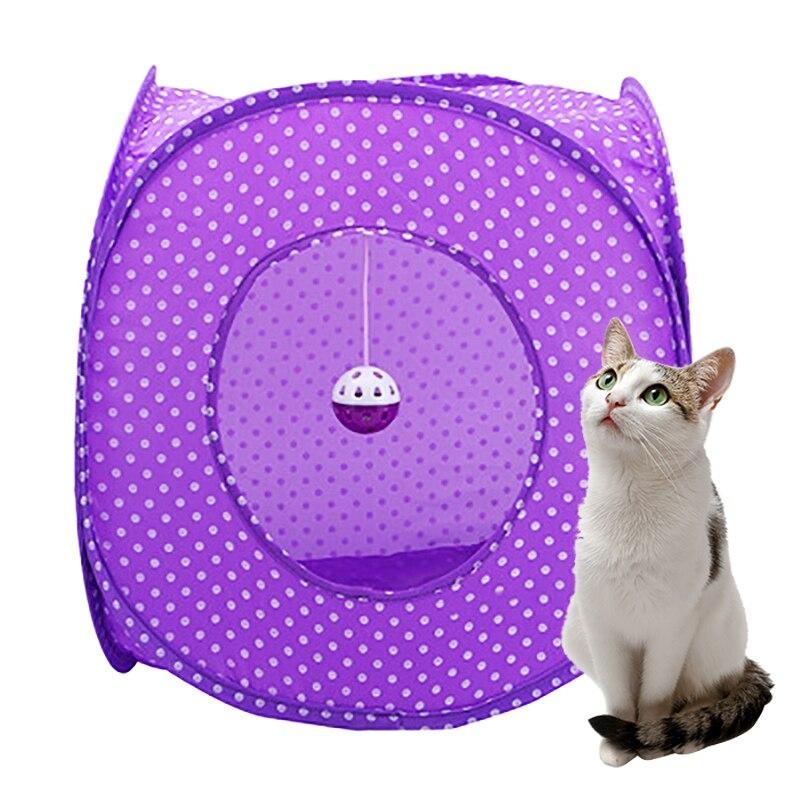 951e32400ba986 Drop Shipping Haustier Katze Tunnel Spielzeug Indoor Outdoor Katzen  Ausbildung Spielzeug Mit Ball für Kätzchen Kaninchen Tiere Spielen Tunnel  Rohre 3 loch