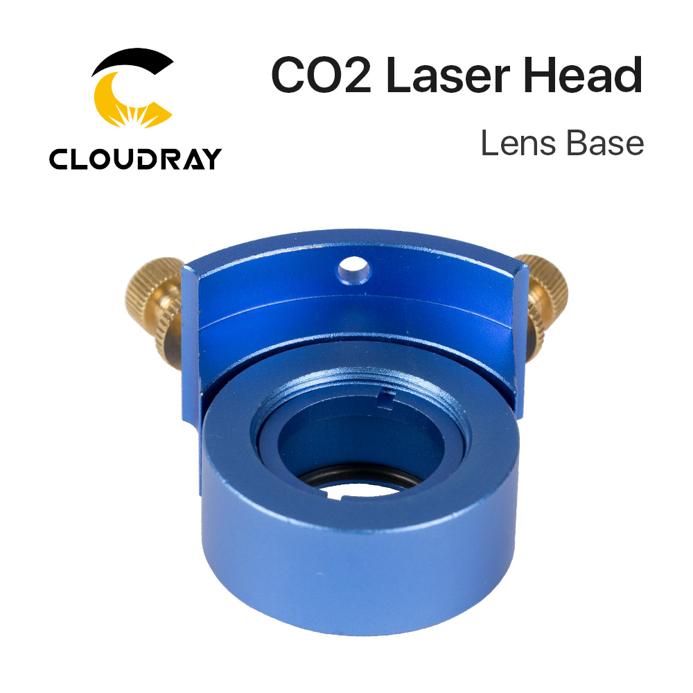 Cloudray 500W CO2 Laser Cutting Head Metal And Non-metal Mixed Cut Head For Laser Cutting Machine LASER HEAD Lens Base Dia. 25mm