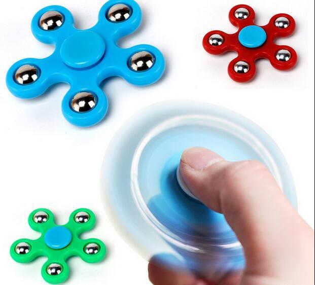 New 5 Corner Spinner Finger Spinner Hand Spinner ABS Spiner Comes Anti Relieve Stress Toys