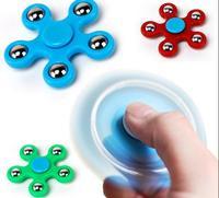 Spinner de 5 esquinas para dedo, Spinner de mano ABS, antiestrés, novedad