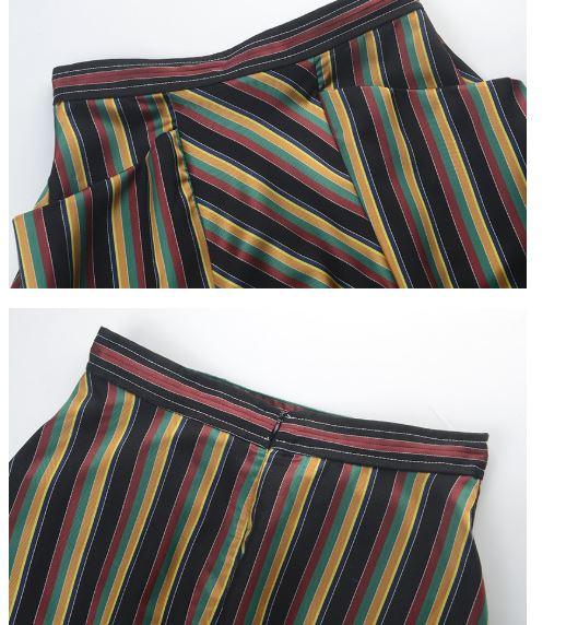 De Rayas Las Vintage Vivid catching Multicolor Pista Mujeres Falda Maxi Ss19 Eye wFfzxqgIFZ