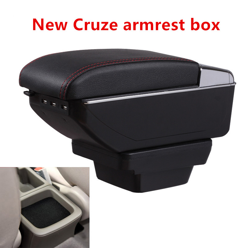 Armrests Efficient Car-styling For Kia Rio 4 X-line 2018 Car Armrest Box Central Store Content Box With Cup Holder Products Interior Car Accessory