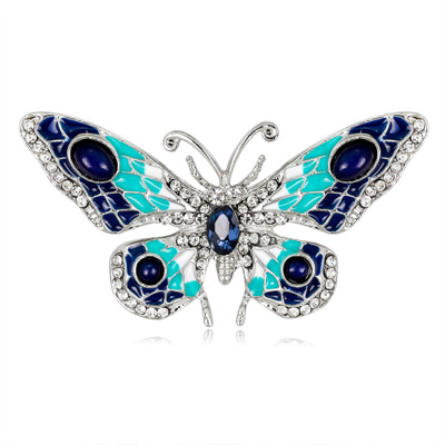 b42634bc77e05 US $4.34 |New Arrivals Vintage Design Shinny Crystal Rhinestone Dragonfly  Brooches Women Dress Scarf Brooch Pins Jewelry Accessories Gift-in Brooches  ...