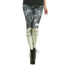 Hot Sale Popular Legging Miyazaki Comics Totoro Legins Cartoon Leggins Printed Women Leggings Sexy Women Pants KDK1545