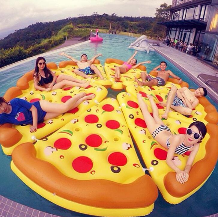 180*150cm pizza floating Bath Seat Chair baby swimming pool Dining Pushchair Infant Portable Play Game Mat Sofas Learn Stool