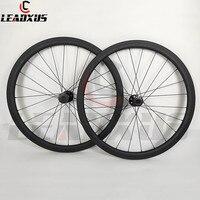 LEADXUS Full T700 Carbon Fiber 700C Disc Brake Carbon Wheels 38mm Depth Disk Brake Wheel D791 792 Hubs Basalt Brake Surface