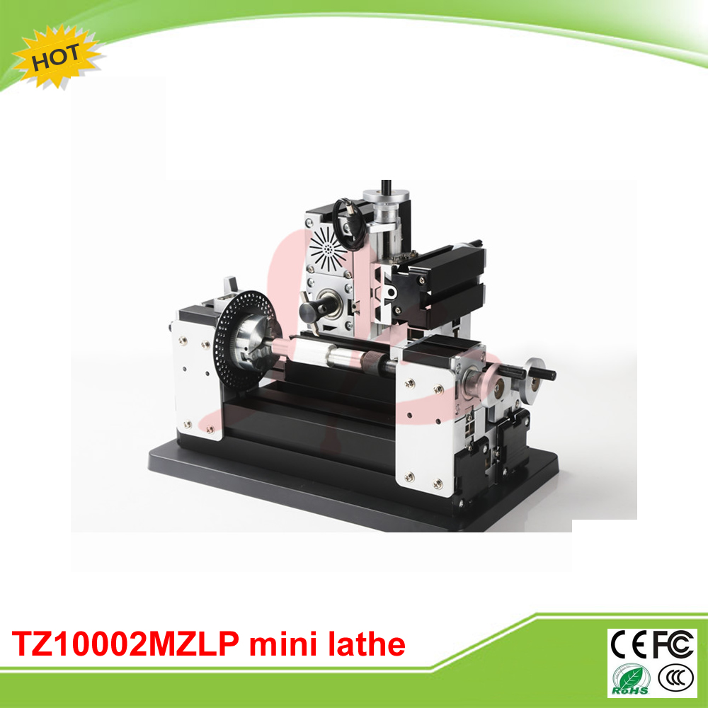 Mini metal lathe machine TZ10002MZLP Big Power Metal Gear Milling Machine A for teaching and DIY 3d model relief for cnc in stl file format knife handle 5