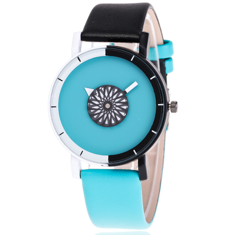 Inalityfashion Relojes de pulsera para mujeres Hebilla Ronda - Relojes para mujeres