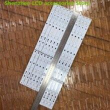 10 ชิ้น/ล็อตสำหรับHaier LE48F3000W LCD TV Backlight LED48D7 ZC14 01 LED48D8 ZC14 01 100% ใหม่