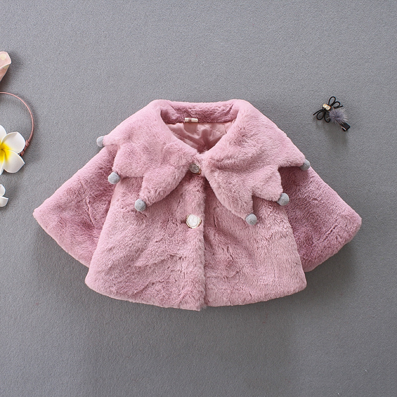 db71ba75e935 baby girl jacket baby coat Velour fabric infant lovely coat baby ...