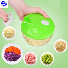4 kinds of color kitchen hand-held vegetable manual  chopper multifunctional household meat skein machine