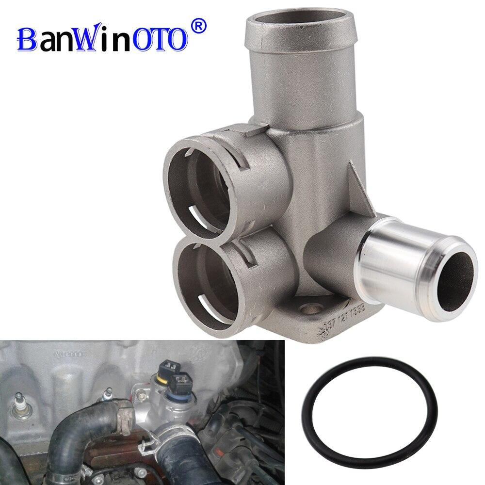 Conector de tubo de manguera refrigerante de aleación de aluminio para VW Passat/Golf/Sharan/Polo 037121133B/037 121 133B/037121133