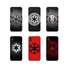 design Star Wars Imperial Seal Empire For Sony Xperia Z Z1 Z2 Z3 Z5 compact M2 M4 M5 C4 E3 T3 XA Huawei Mate 7 8 Y3II Soft Cover(China)