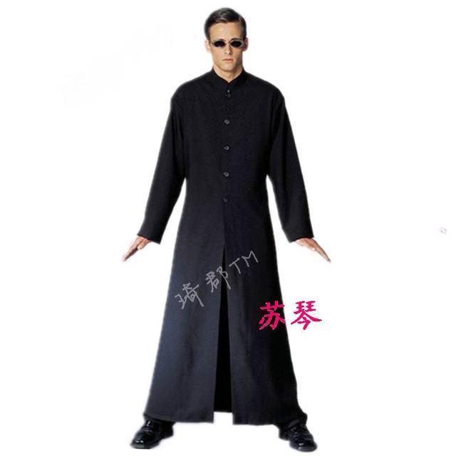 Très Halloween afficher des accessoires, Cos mascarade robe noire  EP19