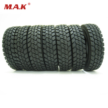 For Tamiya 1 14 Tractor Truck Trailer Climbing Car Rubber Tires Tyres